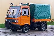Тентованный грузовик