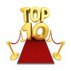 Десятка лучших тем форума.